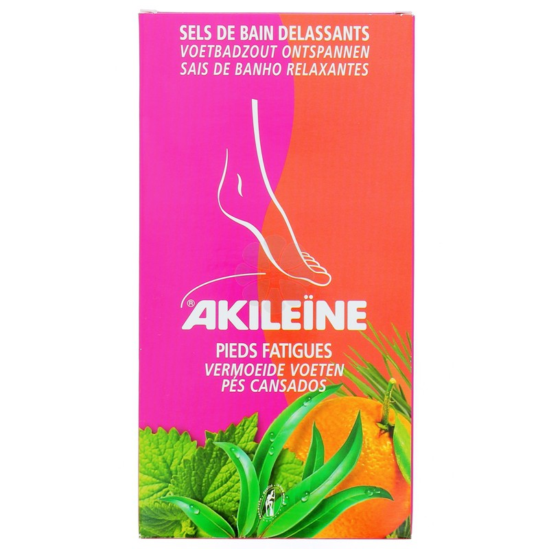 AKILEINE SELS BAIN DELASSANTS 2 x 150G