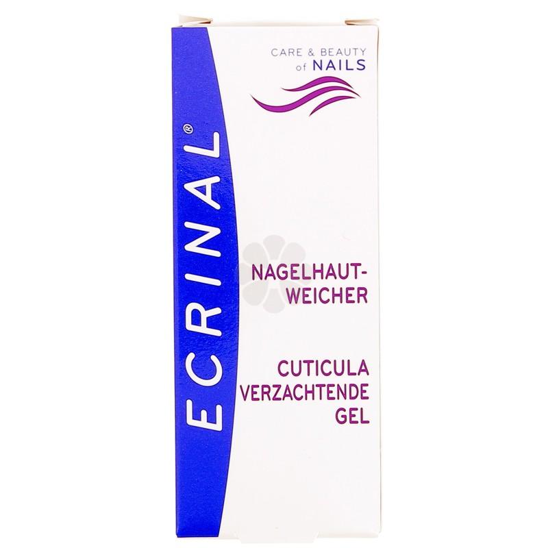 GEL EMOLLIENT CUTICULES ECRINAL 10ML