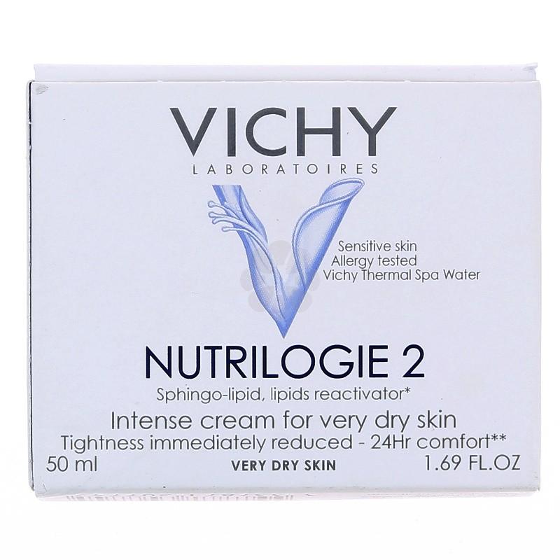 NUTRILOGIE 2 SOIN PEAU TRES SECHES VICHY 50ML