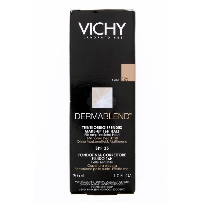 DERMABLEND FOND TEINT CORRECTEUR SPF35 VICHY 30ML SAND (35)