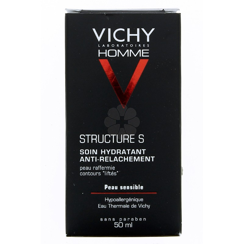 VICHY HOMME STRUCTURE S SOIN HYDRATANT VISAGE 50ML