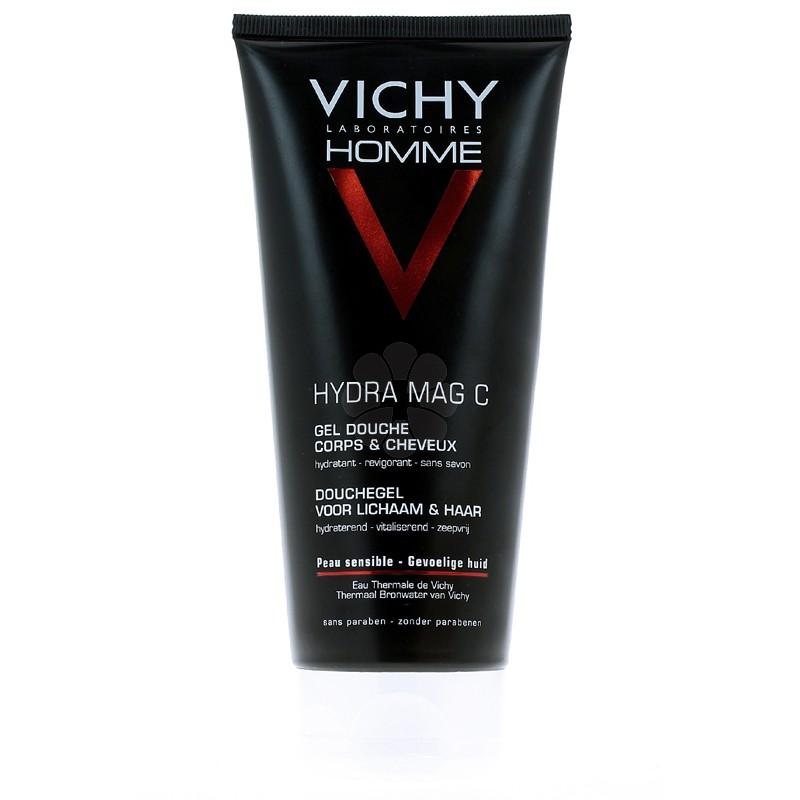 VICHY HOMME HYDRA MAG-C GEL DOUCHE 200ML