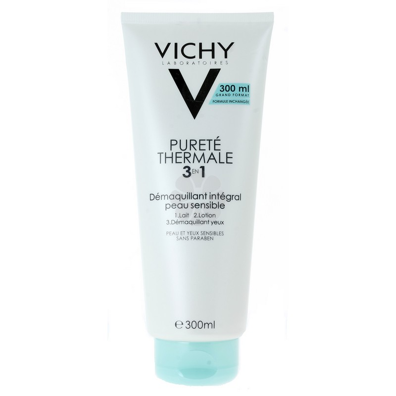 PURETE THERMALE 3 EN 1 DEMAQUILLANT INTEGRAL VICHY 300ML