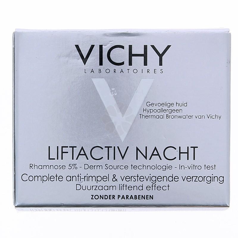 LIFTACTIV NUIT SOIN ANTI-RIDES ET FERMETE VICHY 50ML
