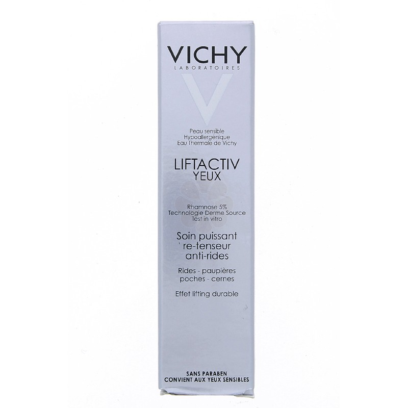 LIFTACTIV YEUX VICHY SOIN ANTI-RIDES + POCHES – CERNES 15ML