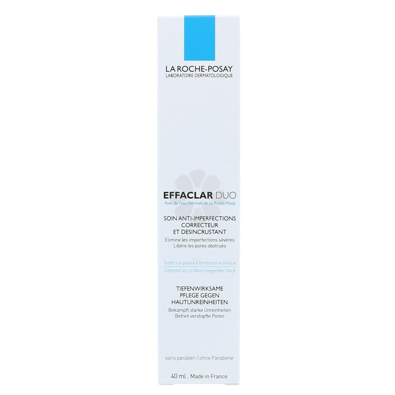 EFFACLAR DUO SOIN ANTI-IMPERFECTIONS LA ROCHE-POSAY 40ML