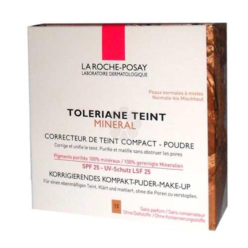 TOLERIANE TEINT MINERAL CORRECTEUR DE TEINT COMPACT-POUDRE 13 BEIGE SABLE LA ROCHE POSAY 9,5G