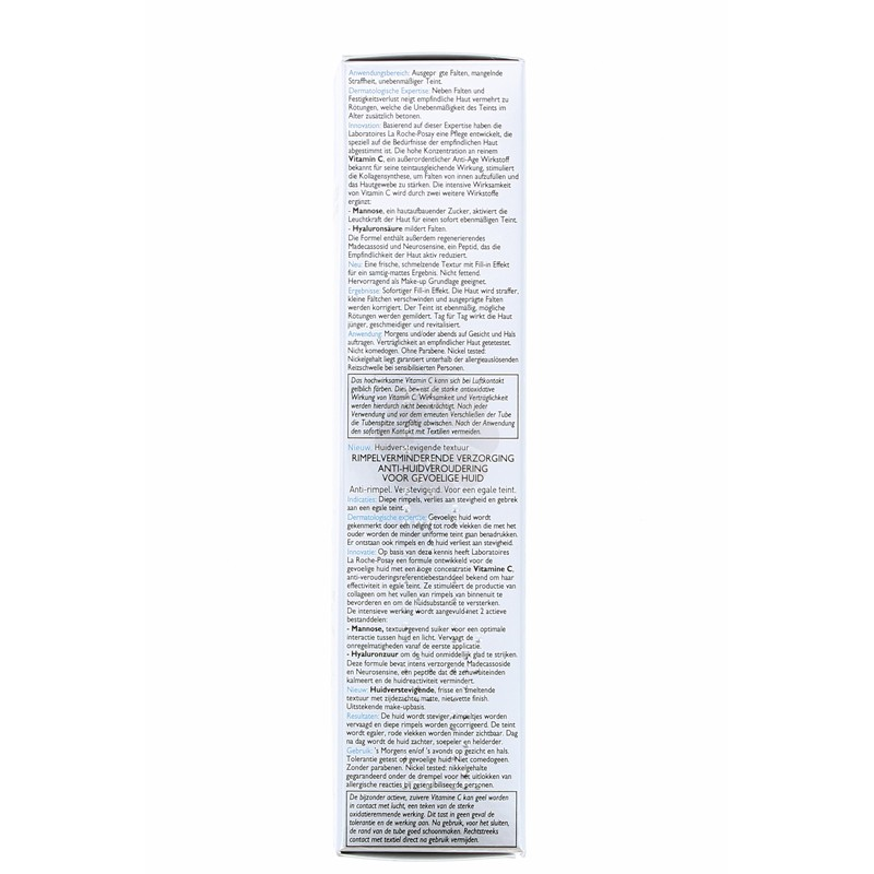 REDERMIC [C ] SOIN DE COMBLEMENT ANTI-AGE PEAUX SECHES LA ROCHE-POSAY 40ML