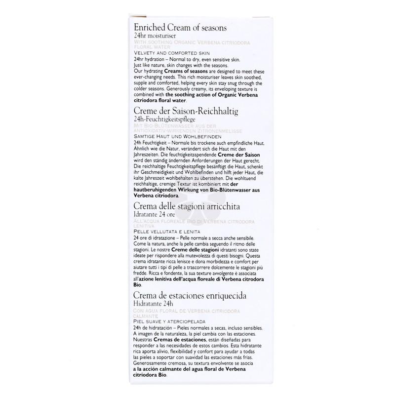 CREME DES SAISONS ENRICHIE SANOFLORE 40ML