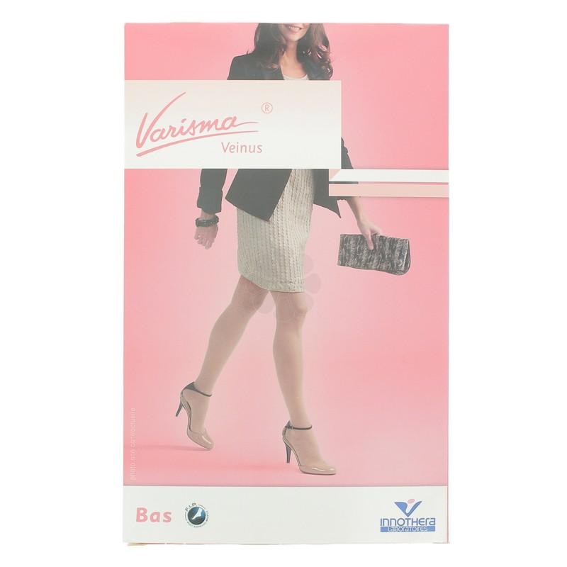 VARISMA VEINUS CLASSE 2 BAS AUTOFIX FEMMES T3 COURT NOIR