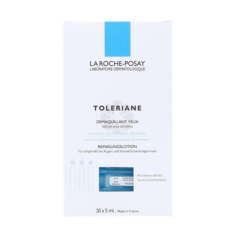 TOLERIANE DEMAQUILLANT YEUX LA ROCHE-POSAY 30X5ML