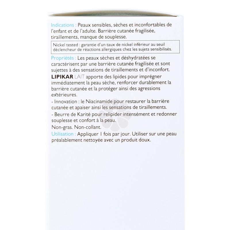 LIPIKAR LAIT RELIPIDANT CORPS LA ROCHE-POSAY 200ML