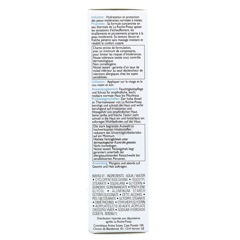 TOLERIANE SOIN PROTECTEUR APAISANT LA ROCHE-POSAY 40ML