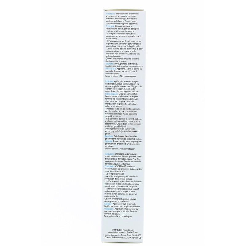 CICAPLAST ACCELERATEUR DE REPARATION EPIDERMIQUE LA ROCHE-POSAY 40ML