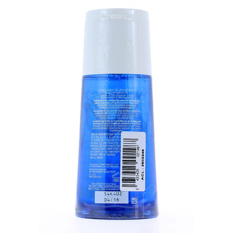 PURETE THERMALE DEMAQUILLANT APAISANT YEUX VICHY 150MLx2