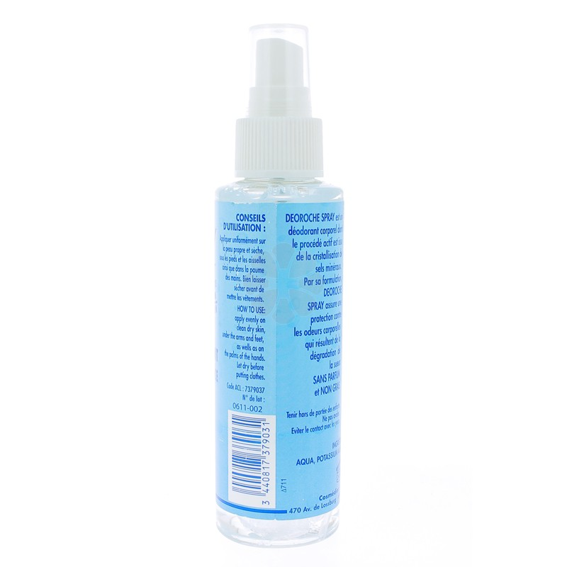 DEOROCHE SPRAY DEODORANT 120ML