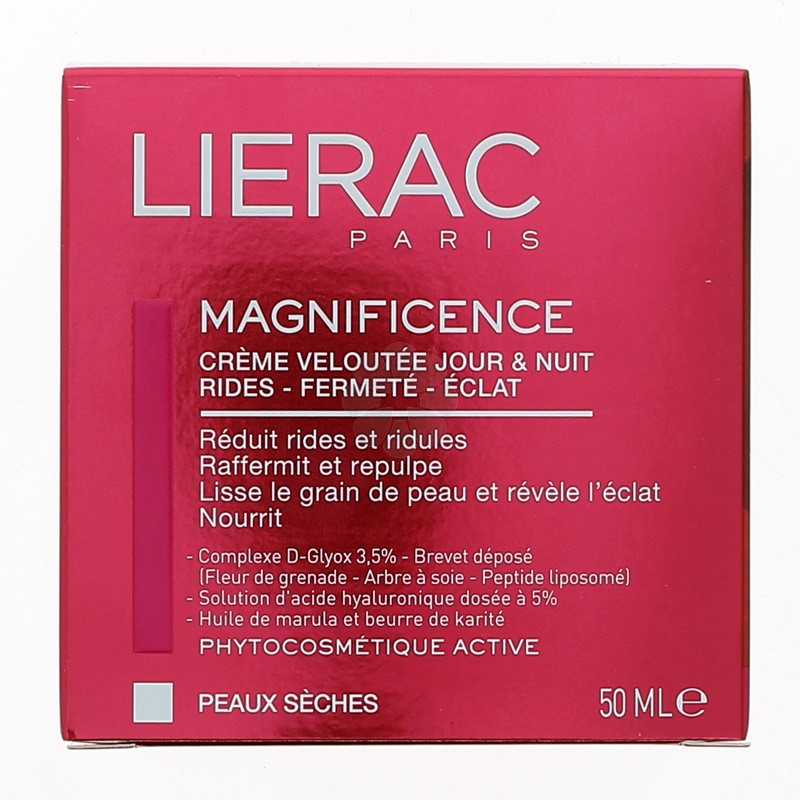 MAGNIFICENCE CREME VELOUTEE JOUR & NUIT LIERAC 50ML