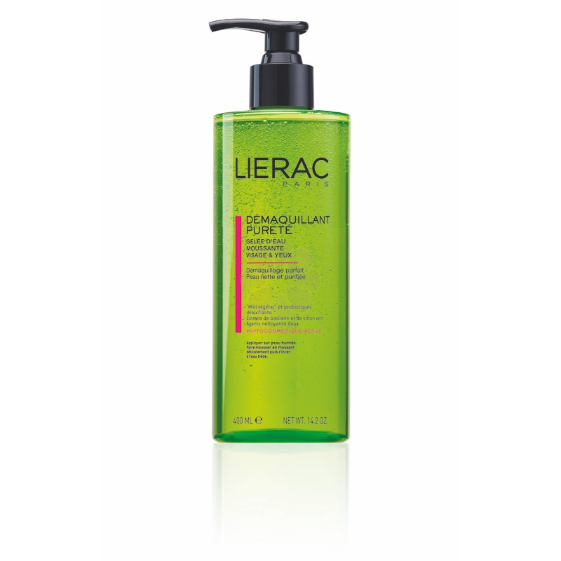 DEMAQUILLANT PURIFIANT LIERAC 400ML