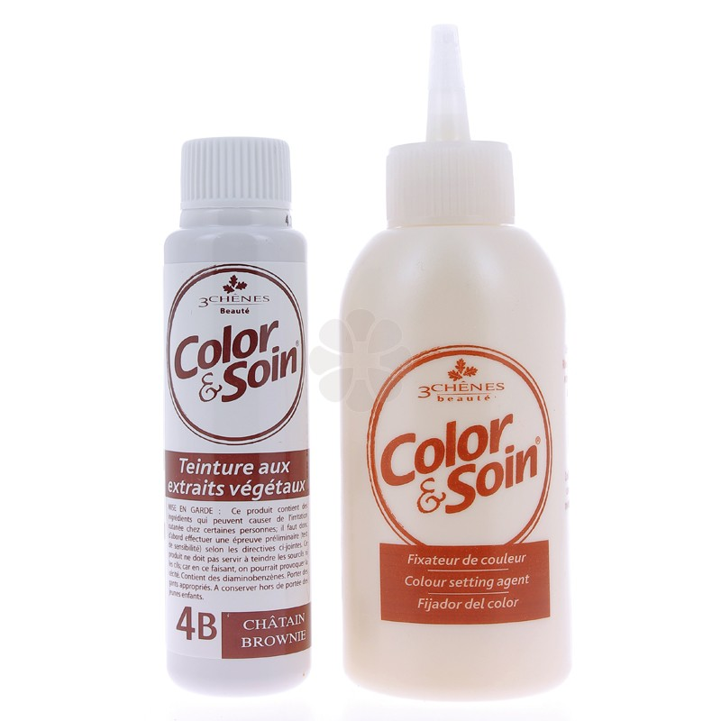 COLOR & SOIN 3 CHENES CHATAIN BROWNIE 4B