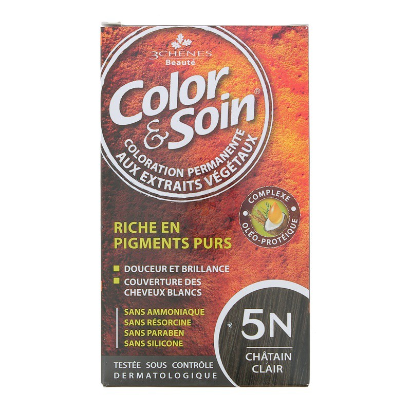 COLOR & SOIN 3 CHENES CHATAIN CLAIR 5N
