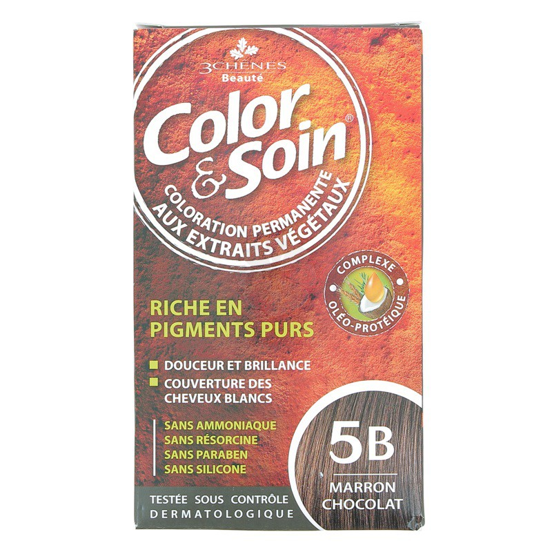 COLOR & SOIN 3 CHENES MARRON CHOCOLAT 5B