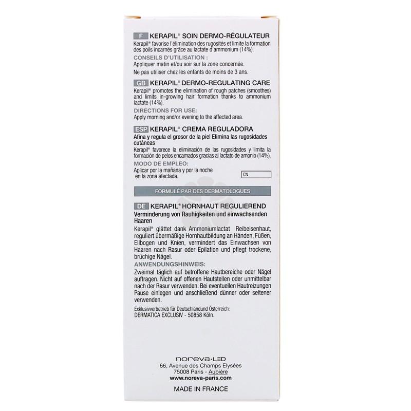 KERAPIL SOIN DERMO-REGULATEUR NOREVA 75ML