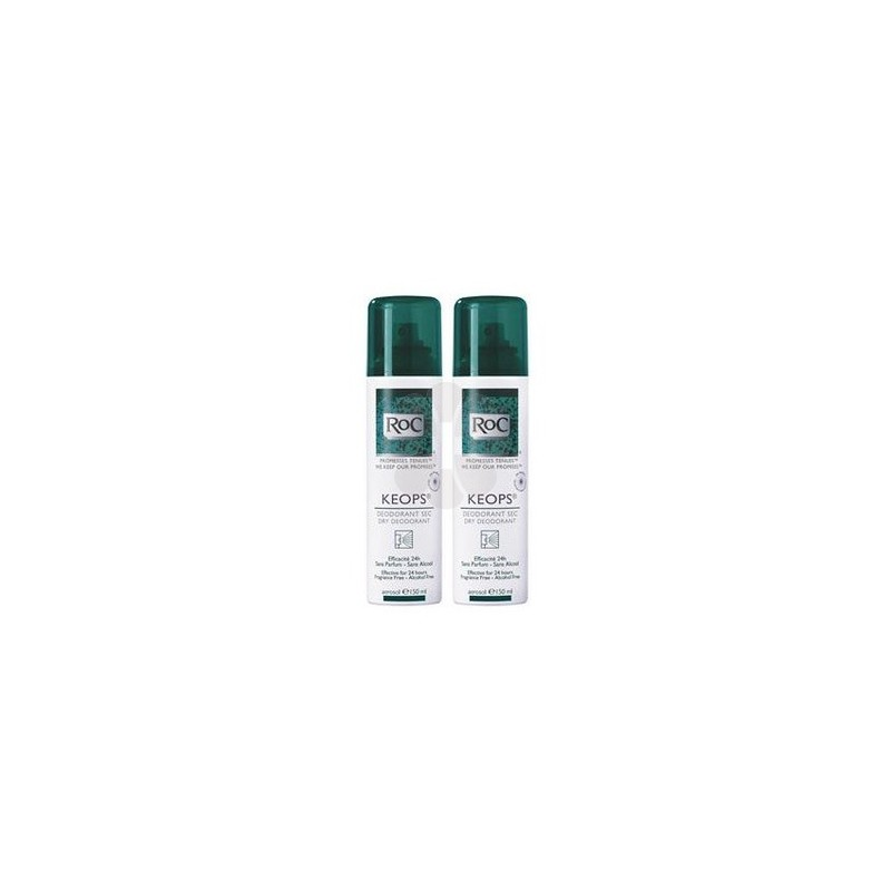 KEOPS DEODORANT SPRAY SEC ROC 150ML x 2