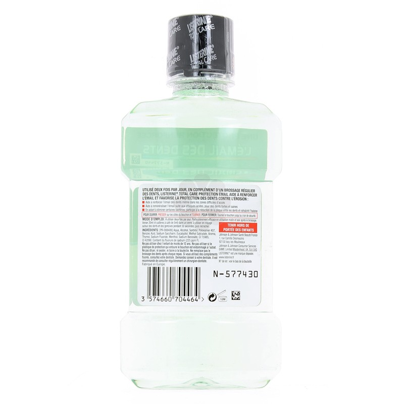 LISTERINE TOTAL CARE PROTECTION EMAIL 250 ML