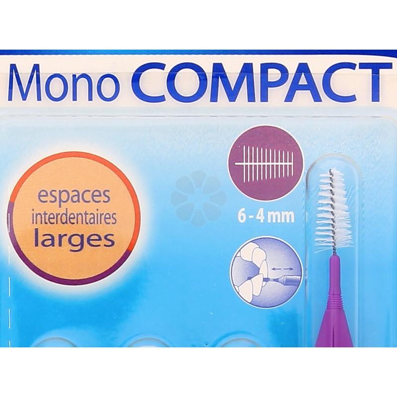 INAVA MONO COMPACT BROSSETTES VIOLET 6-4 MM x4