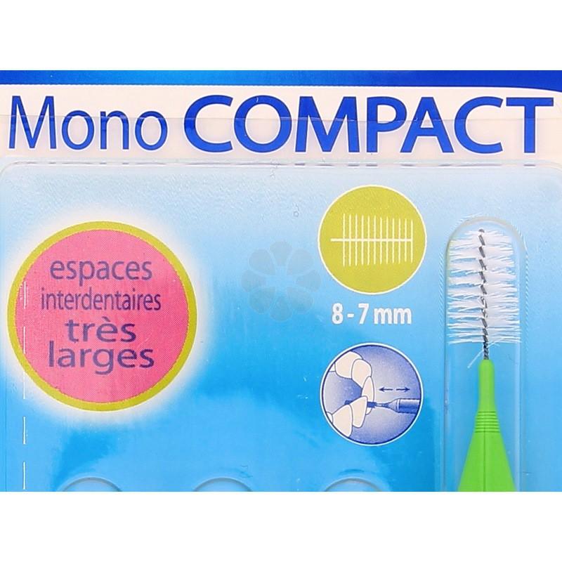 INAVA MONO COMPACT BROSSETTES VERT 8-7 MM x4