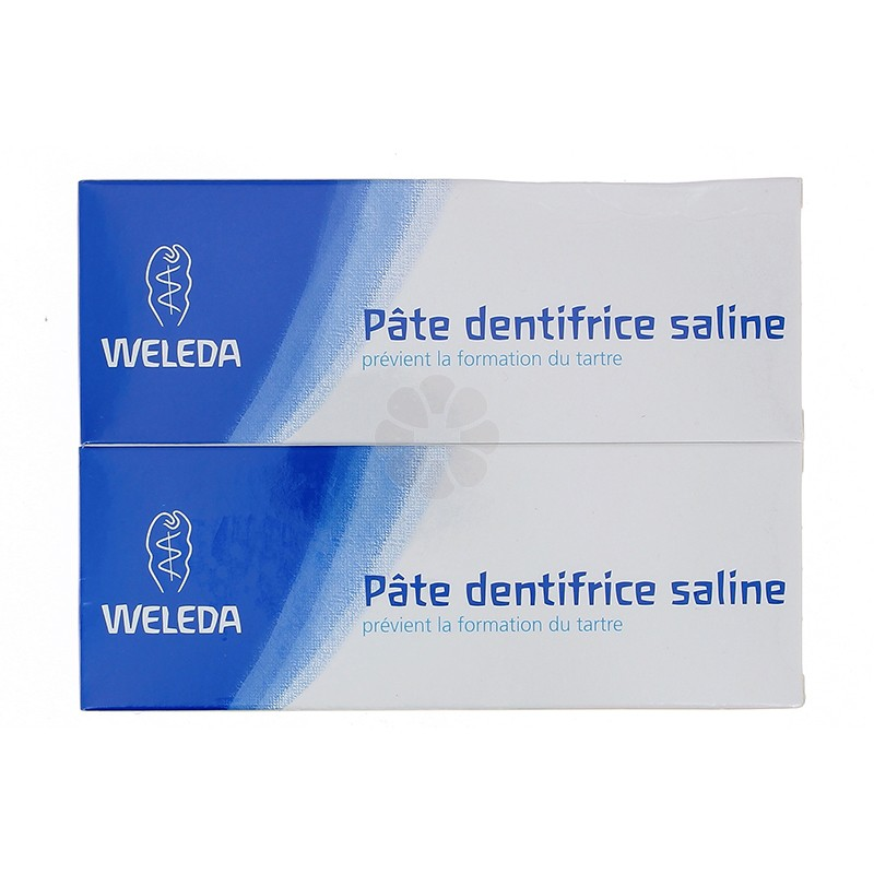 DENTIFRICE WELEDA SALINE 75ML X2