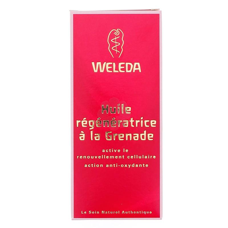 HUILE REGENERATRICE A LA GRENADE WELEDA 100ML
