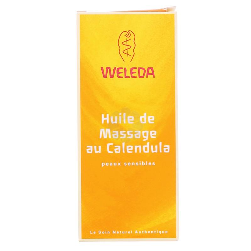 HUILE DE MASSAGE AU CALENDULA WELEDA 100ML