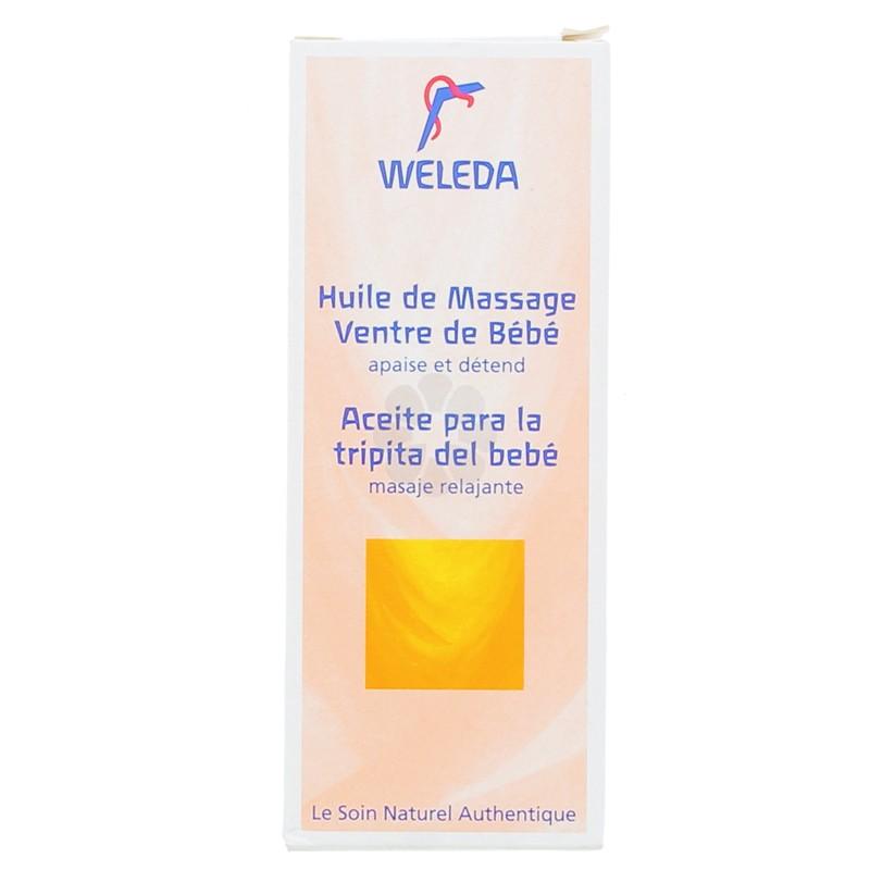 HUILE DE MASSAGE VENTRE DE BEBE WELEDA BEBE 50ML