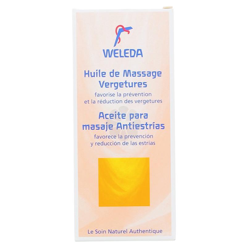 HUILE DE MASSAGE VERGETURES WELEDA 100ML