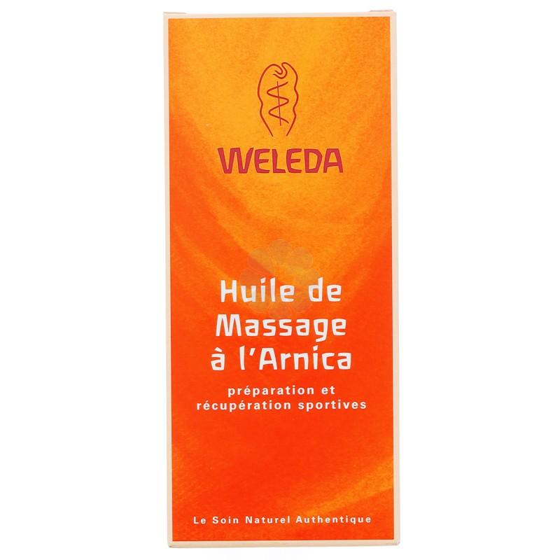 HUILE DE MASSAGE A L'ARNICA WELEDA 200ML