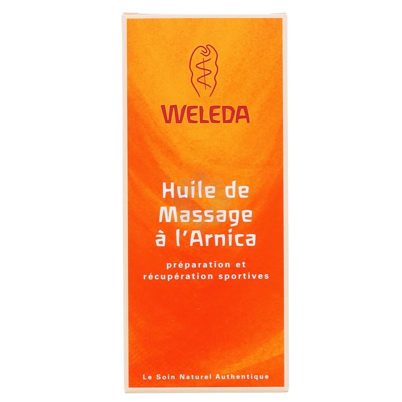 HUILE DE MASSAGE A L'ARNICA WELEDA 100ML