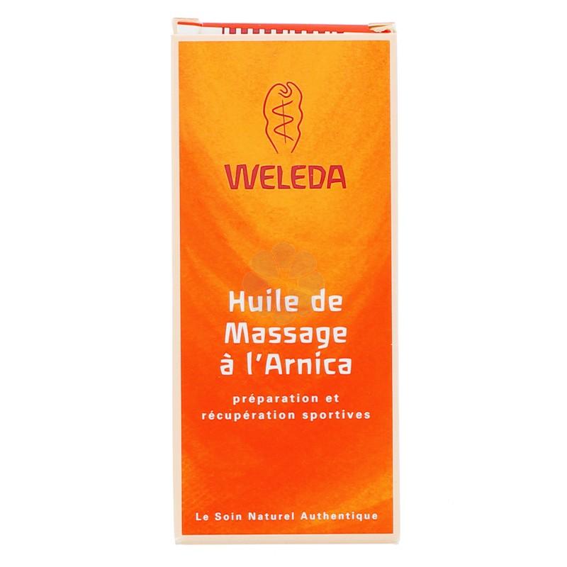HUILE DE MASSAGE A L'ARNICA WELEDA 50ML