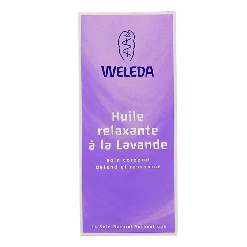 HUILE RELAXANTE A LA LAVANDE WELEDA 00ML