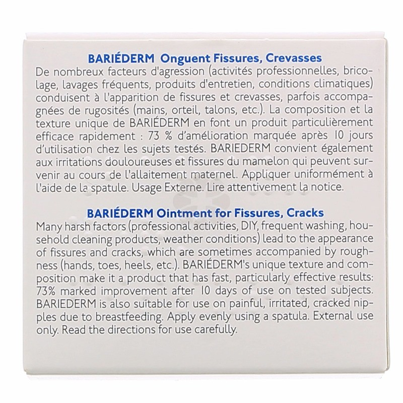 BARIEDERM ONGUENT FISSURES CREVASSES URIAGE 40 G