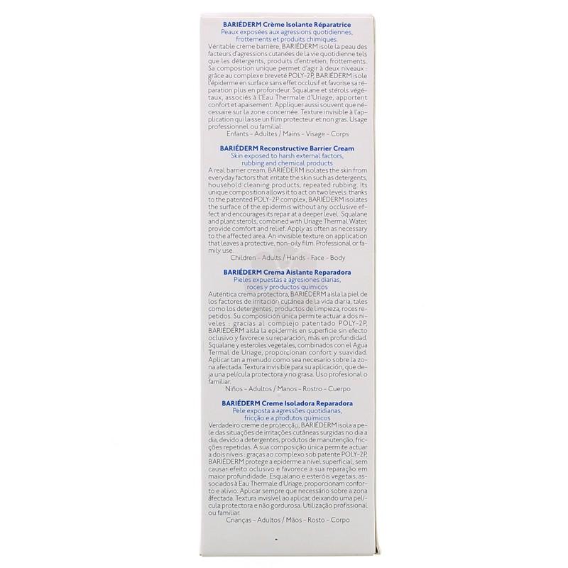 BARIEDERM CREME ISOLANTE REPARATRICE URIAGE 75 ML
