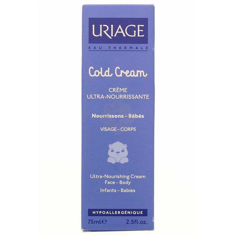 COLD CREAM CREME ULTRA-NOURRISANTE BEBE URIAGE 75 ML