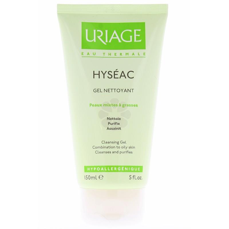 HYSEAC GEL NETTOYANT URIAGE 150 ML