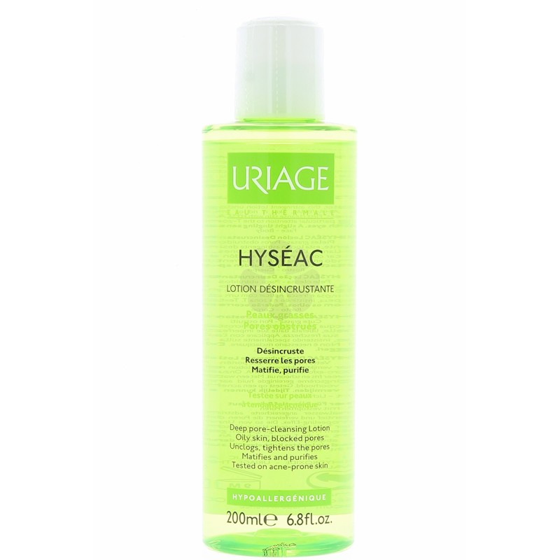 HYSEAC LOTION DESINCRUSTANTE URIAGE 200 ML