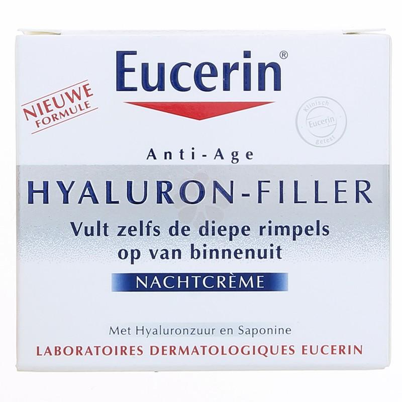 HYALURON-FILLER SOIN NUIT EUCERIN 50ML