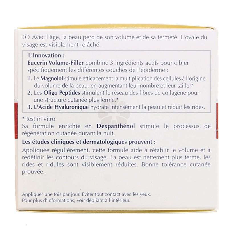 VOLUME-FILLER SOIN NUIT EUCERIN 50ML