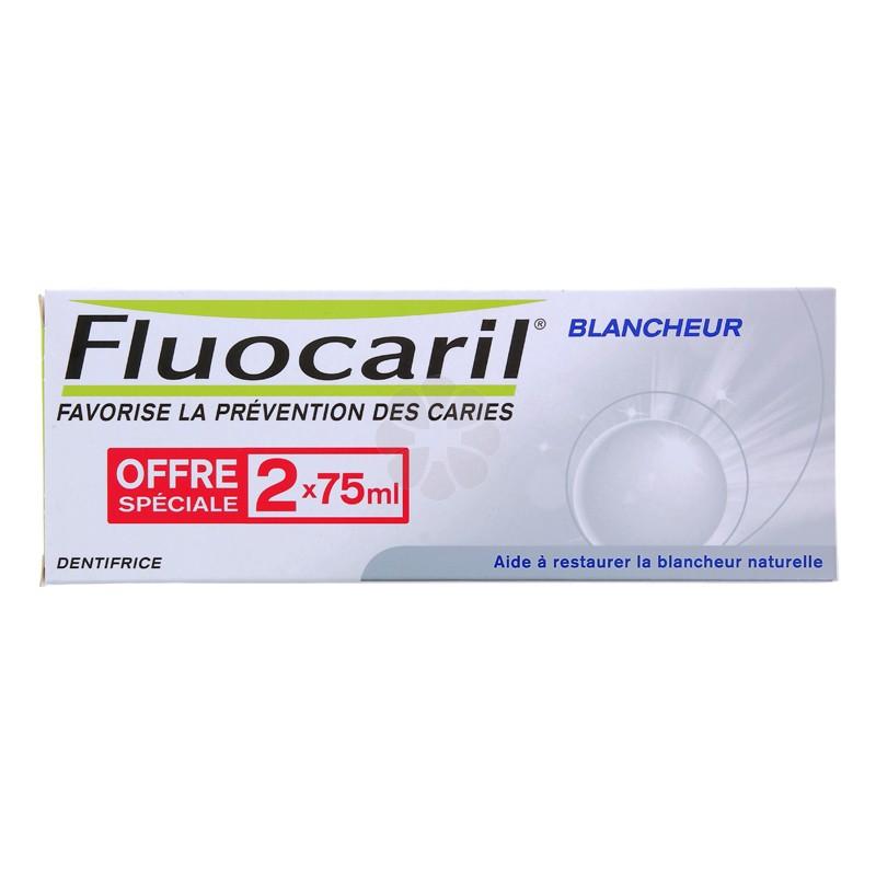 FLUOCARIL BLANCHEUR DENTIFRICE 2 x 75ML