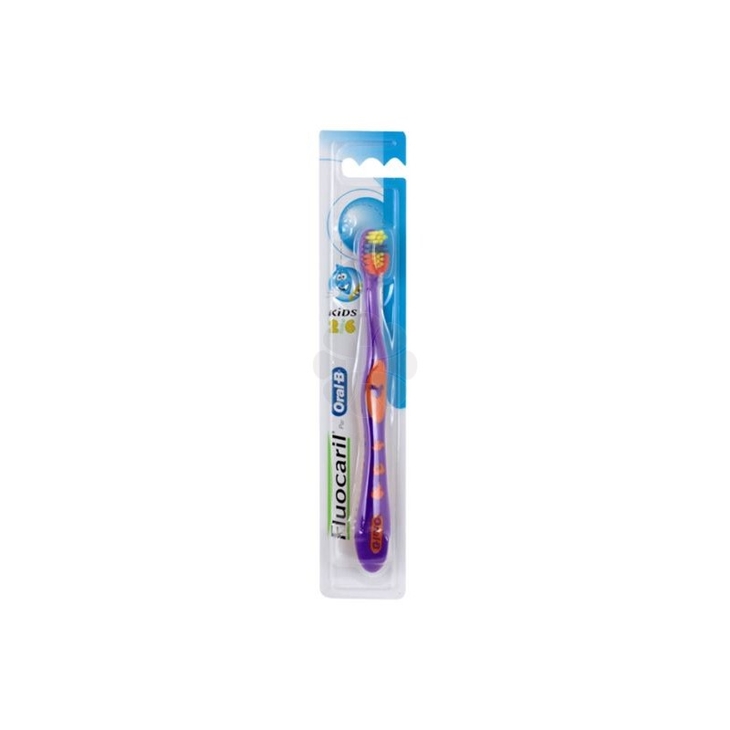 BROSSE A DENTS KIDS FLUOCARIL ORAL-B 2-6ANS
