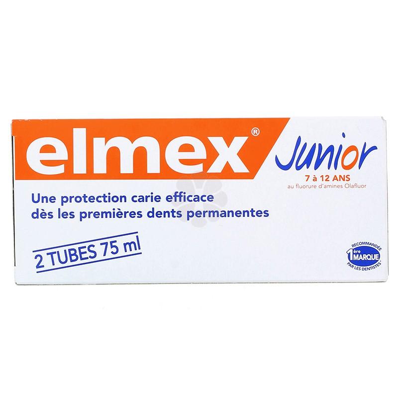 ELMEX DENTIFRICE JUNIOR LOT DE 2